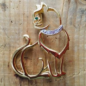 Jewelry - Adorable Cat Brooch!